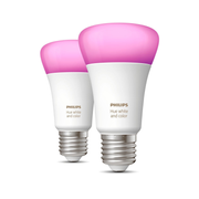Philips Hue White and colour ambience 2-pack E27
