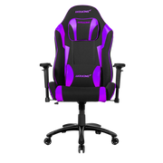 AKRacing EX-Wide Special Edition PC gaming chair Upholstered padded seat Black, Purple