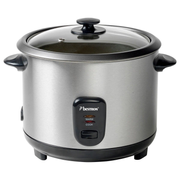 Bestron ARC180 rice cooker 1.8 L 700 W Black, Stainless steel