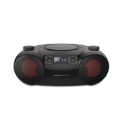 Energy Sistem Boombox 6 Tragbarer CD-Player Schwarz
