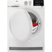 AEG T6DB60378, Freestanding, Front-load, Condensation, White, Rotary, Left