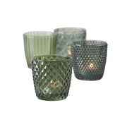 Boltze 1014420 candle holder Glass Green