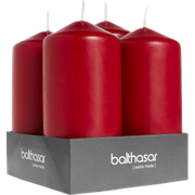 Balthasar 082648.002 wax candle Cylinder Red 4 pc(s)