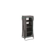Easy Camp 540024 camping cupboard Grey 4 shelves Foldable
