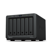 Synology DiskStation DS620SLIM NAS/storage server Desktop Ethernet LAN Black J3355