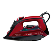 Bosch TDA503011P Dry & Steam iron 3100 W Black, Red