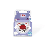 bibi Papa is the Best Silicone Black, Red, White