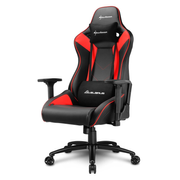 Sharkoon ELBRUS 3 Universal gaming chair Padded seat Black, Red