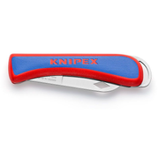 Knipex 16 20 50 SB utility knife Blue, Red, Stainless steel Snap-off blade knife