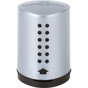 Faber-Castell 183700 pencil sharpener Manual pencil sharpener Black, Silver