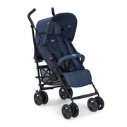 Chicco London Traditional stroller 1 seat(s) Black, Blue