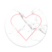 PopSockets Stoney Heart Passive holder E-book reader, Mobile phone/Smartphone, Tablet/UMPC Marble colour, Red