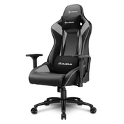 Sharkoon ELBRUS 3 Universal gaming chair Padded seat Black, Grey