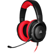 Corsair HS35 Headset Head-band 3.5 mm connector Black, Red