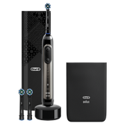 Oral-B Genius X 20100S Luxe Edition Electric Toothbrush Anthracite Grey Powered By Braun, Adult, Rotating-oscillating toothbrush, Gum care,Sensitive,Whitening, Anthracite, Gray, 2 min, Hungary