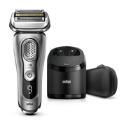 Braun Series 9 9365cc Latest Generation Electric Shaver, Clean&Charge Station, Fabric Case, Graphite