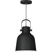 Activejet AJE-LOLY BLACK 1P ceiling lamp