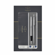 Parker 2093258 pen set Black, Silver 2 pc(s)