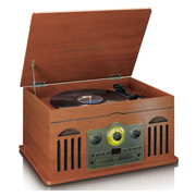 Lenco TCD-2600 Belt-drive audio turntable Wood