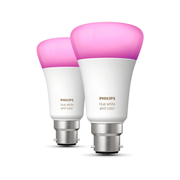 Philips Hue White and colour ambience 2-pack B22