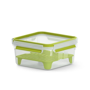 EMSA CLIP & GO XL Lunch container 1.3 L Green, Transparent 1 pc(s)