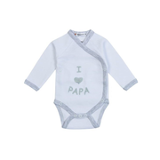 Milarda I love Papa Long sleeve Unisex One piece