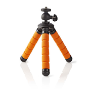 Nedis GPOD3000BK tripod Digital/film cameras 3 leg(s) Black, Orange