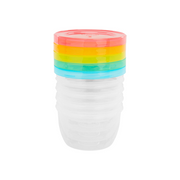 Badabulle B004304 baby food container Blue, Pink, Transparent, Yellow