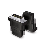ALOGIC Premium DVI-D (M) to HDMI (F) Adapter - Male to Female - Blister Packaging