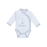 Milarda I love Mama Long sleeve Unisex One piece