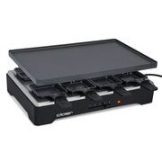 Cloer 6446 raclette grill 8 person(s) 1200 W Black