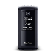 CyberPower VP700ELCD uninterruptible power supply (UPS) Line-Interactive 0.7 kVA 390 W 3 AC outlet(s)