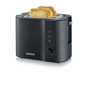 Severin AT 9552 toaster 2 slice(s) 800 W Black