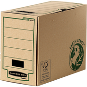 Fellowes 4473302 file storage box Paper Brown, Green