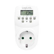 LogiLink ET0007 electrical timer White Daily/Weekly timer