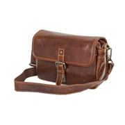 Alpenleder Presse Shoulder case Brown