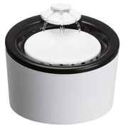 TRIXIE 24452 dog/cat feeder/waterer Plastic Black, White Automatic pet waterer