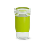 EMSA CLIP & GO Lunch container 0.45 L Plastic Green, Transparent 1 pc(s)