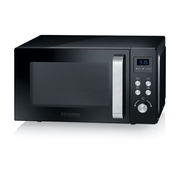 Severin MW 7750 Countertop Grill microwave 20 L 800 W Black, Stainless steel