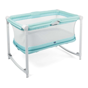 Chicco Zip&Go baby travel bed Aqua colour