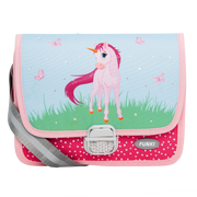 Funki Pink Unicorn Multicolour Girl School shoulder bag