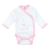 Milarda I love Papa Long sleeve Female 3-6m One piece