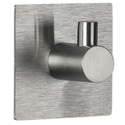 Spirella Meti Indoor Towel hook Brushed steel