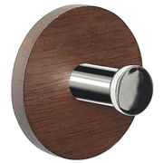 Spirella Punt Indoor Towel hook Brown