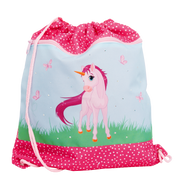 Funki Pink Unicorn backpack Drawstring bag Multicolour
