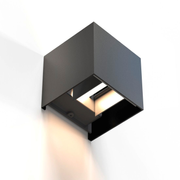 Hama 00176563 wall lighting Suitable for indoor use Suitable for outdoor use 6 W Black