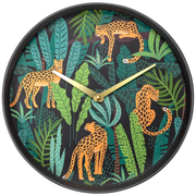 NeXtime Urban Jungle Quartz wall clock Round Multicolour