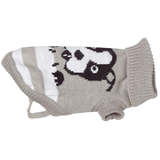 TRIXIE Piney Pullover S Grey, White Wool Dog