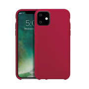 """Xqisit Silicone mobile phone case 15.5 cm (6.1"""") Cover Red"""