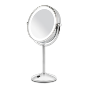 BaByliss 9436E makeup mirror Freestanding Round Stainless steel